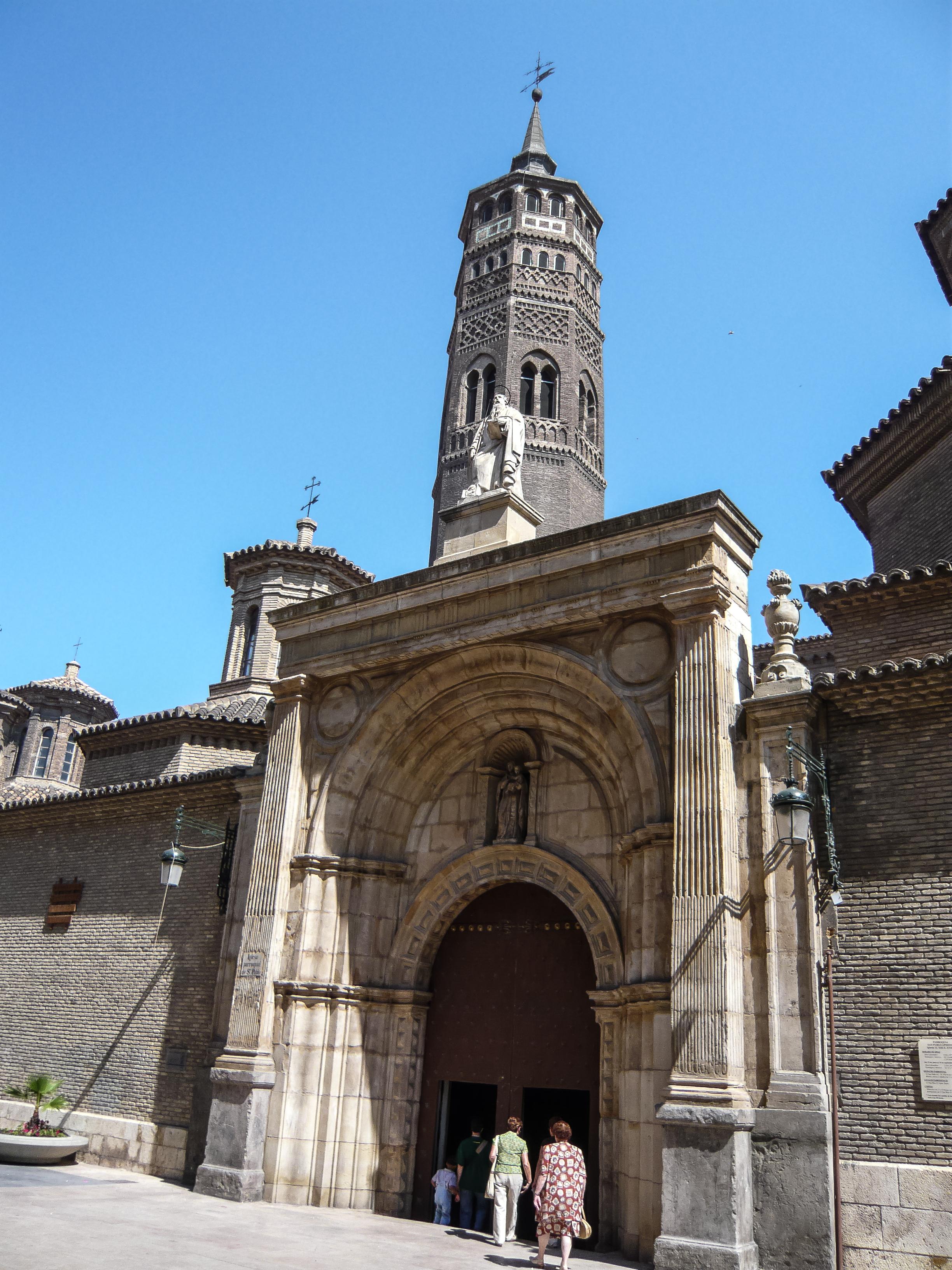 Iglesia de San Pablo (Zaragoza) - Wikipedia, la enciclopedia libre