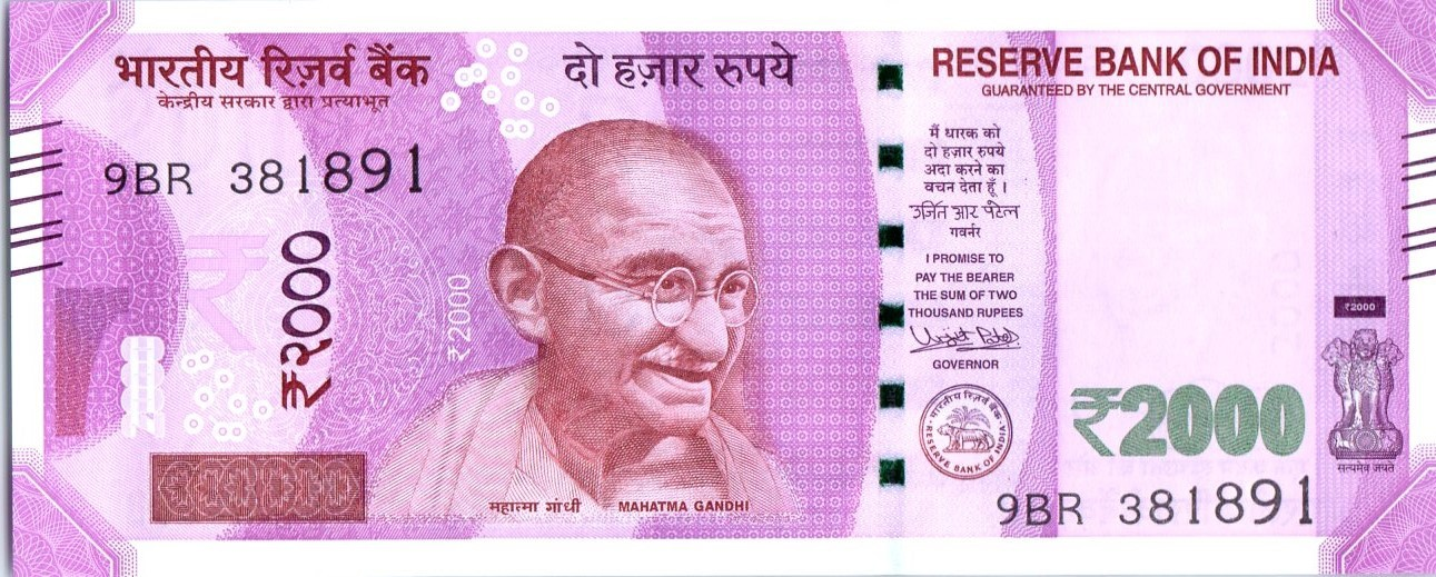 Indian 2000-rupee note - Wikipedia