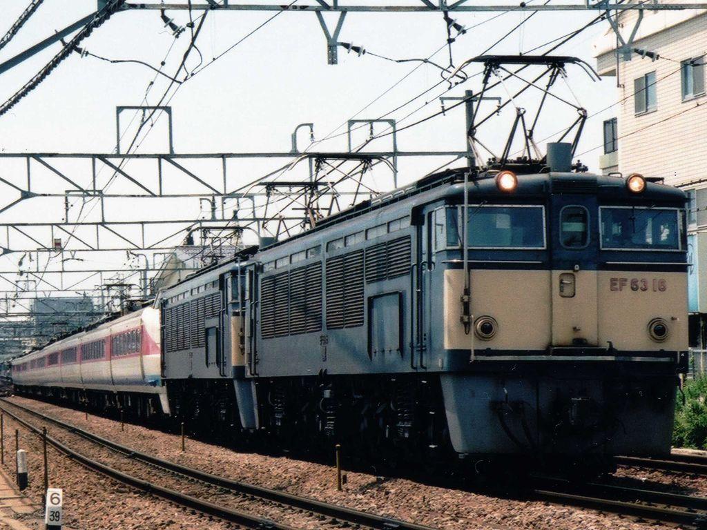 JNR Class EF63