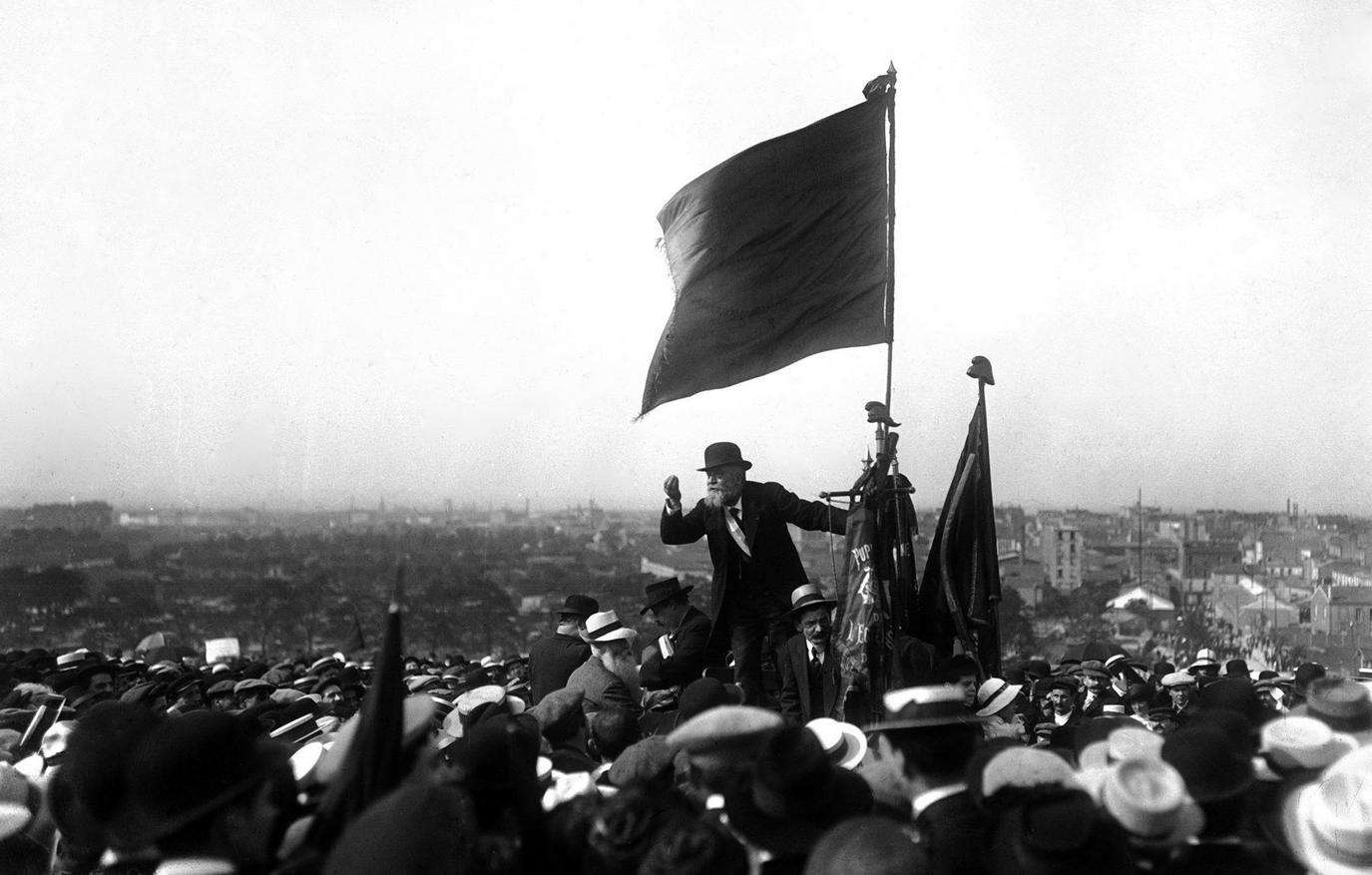 Discours de Jaurès au Pré-Saint-Gervais (25 mai 1913)