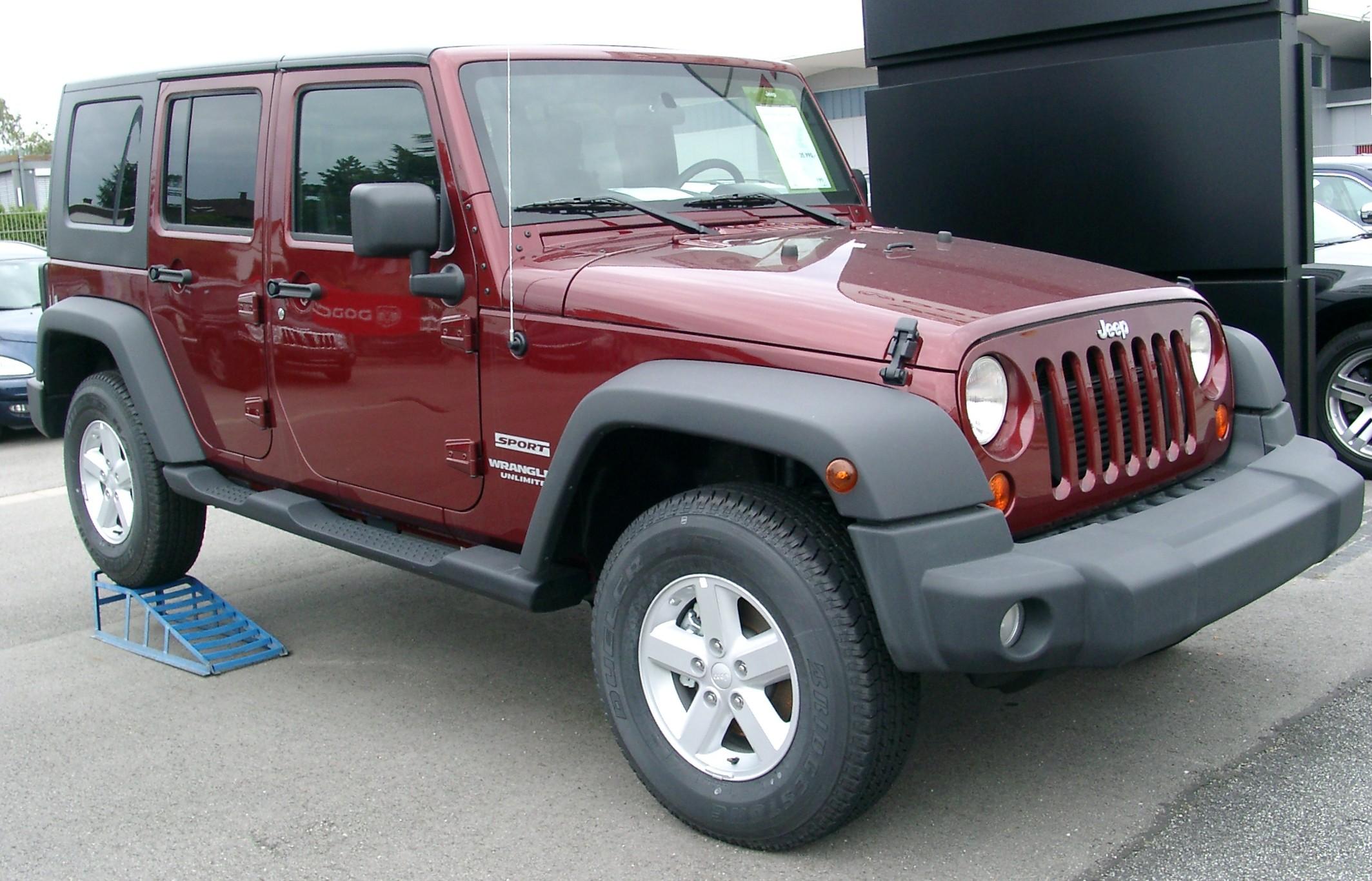 2019 Jeep Wrangler Pickup >> File:Jeep Wrangler front 20070902.jpg - Wikipedia