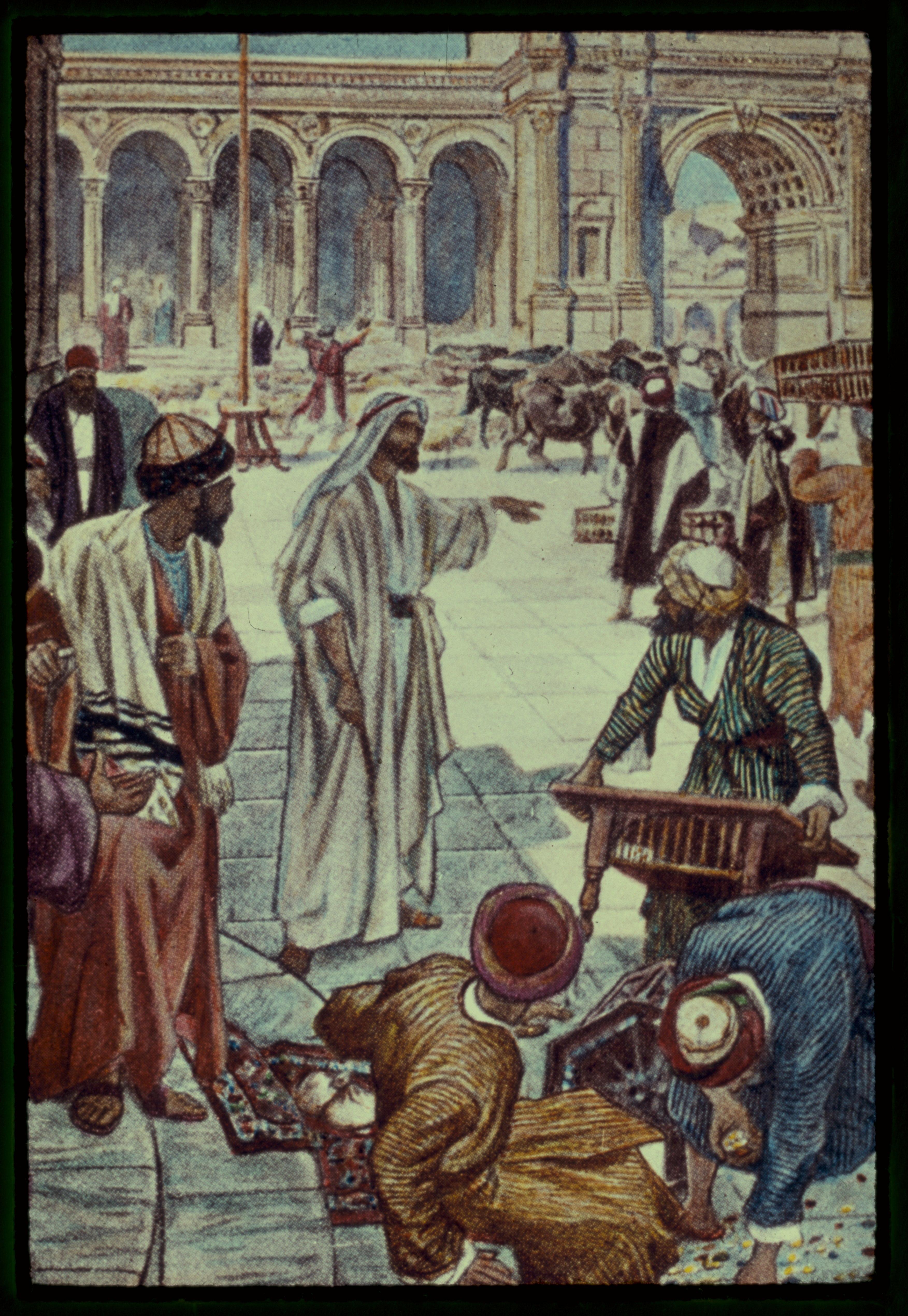 File:John 2-13-17. Jesus Goes Up To Jerusalem And