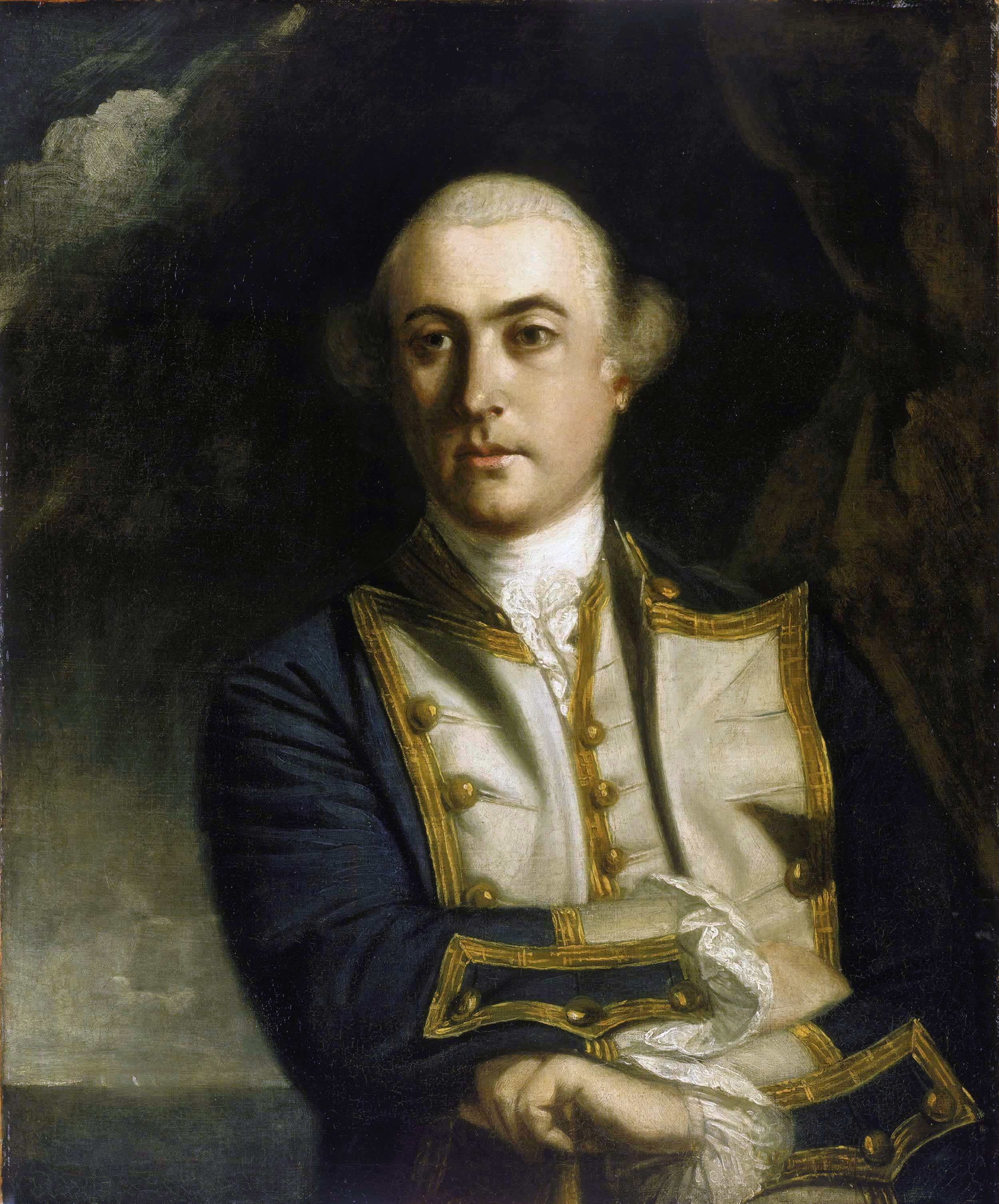 Honourable John Byron, by [[Joshua Reynolds]], 1758