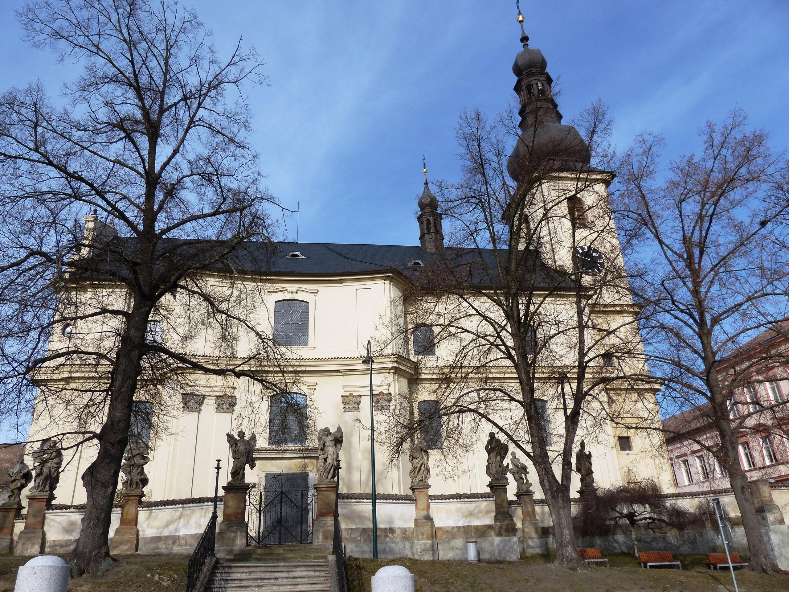 Soubor Kostel Sv Jana Krtitele Namesti B Hrozneho Lysa Nad Labem