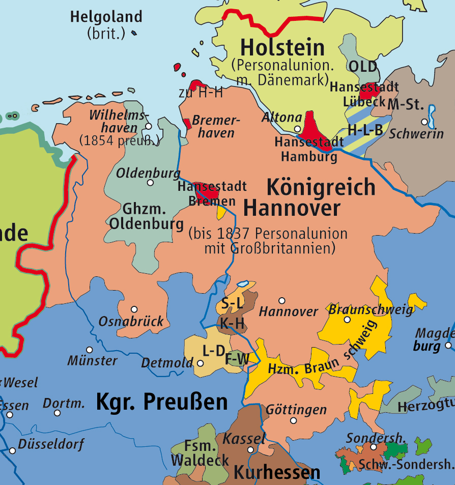 Hannover Map Germany
