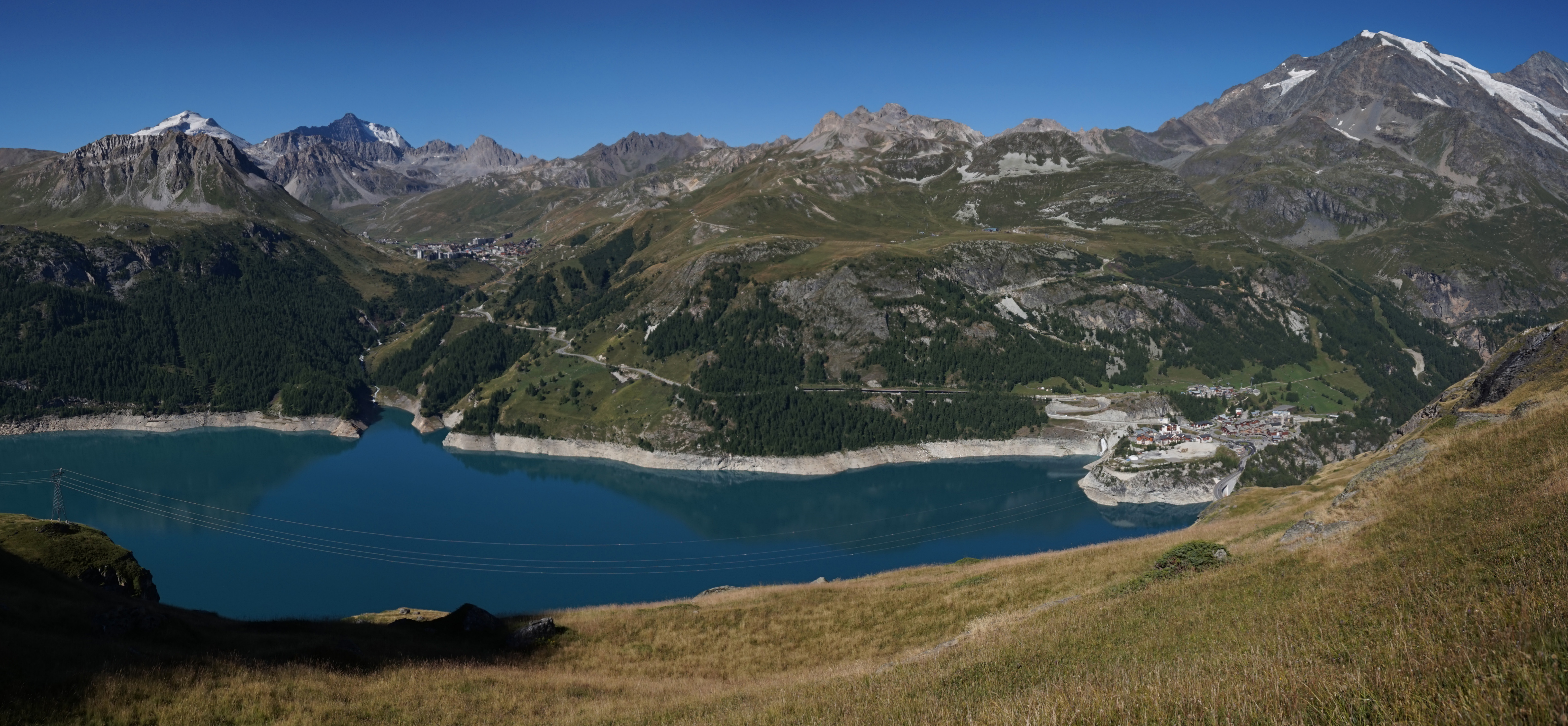 File lac du chevril wikimedia commons - Lac du chevril ...