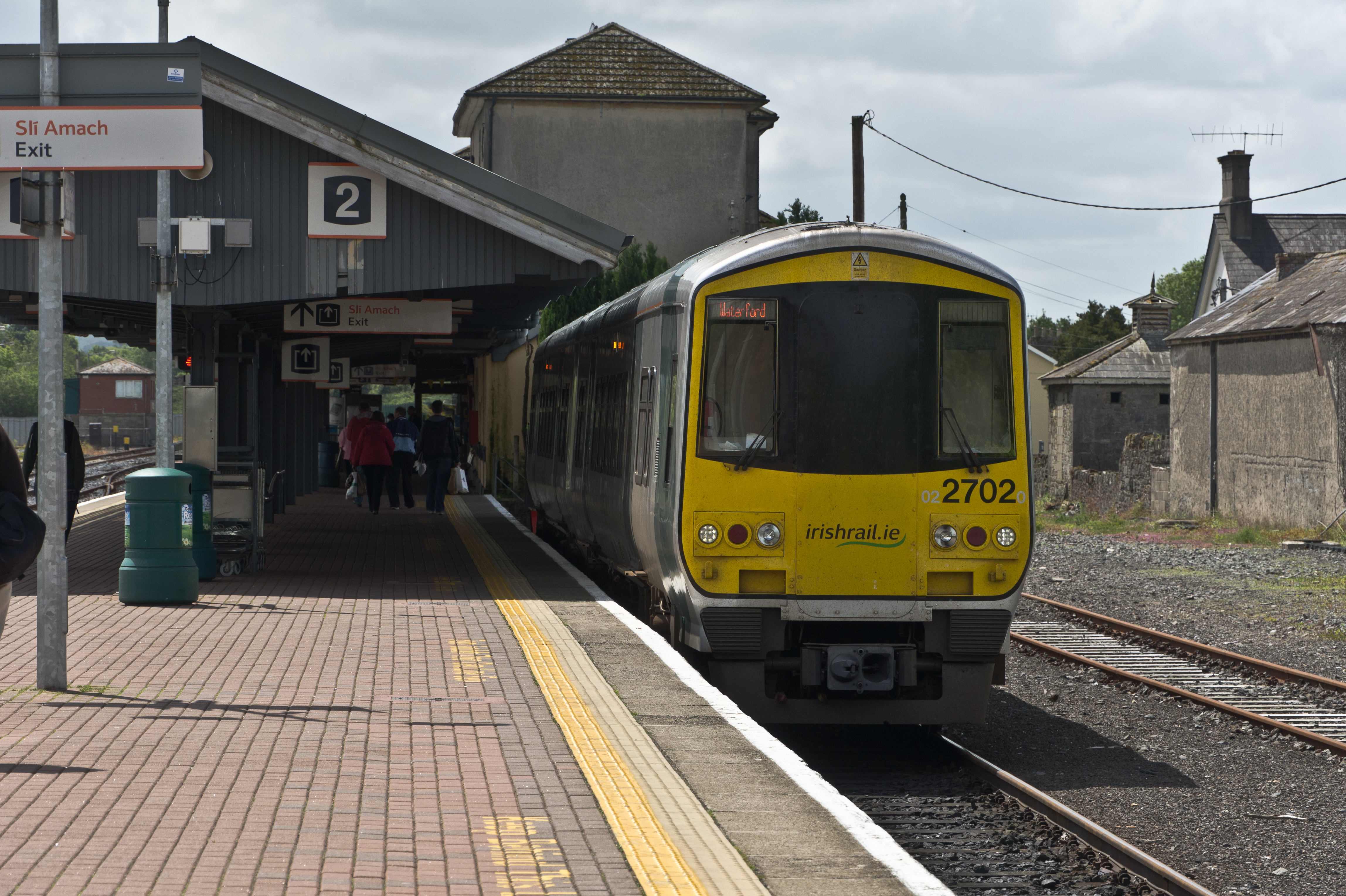 How does Irelands public transport compare with other