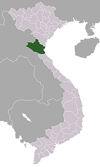 Location of Nghệ An Province