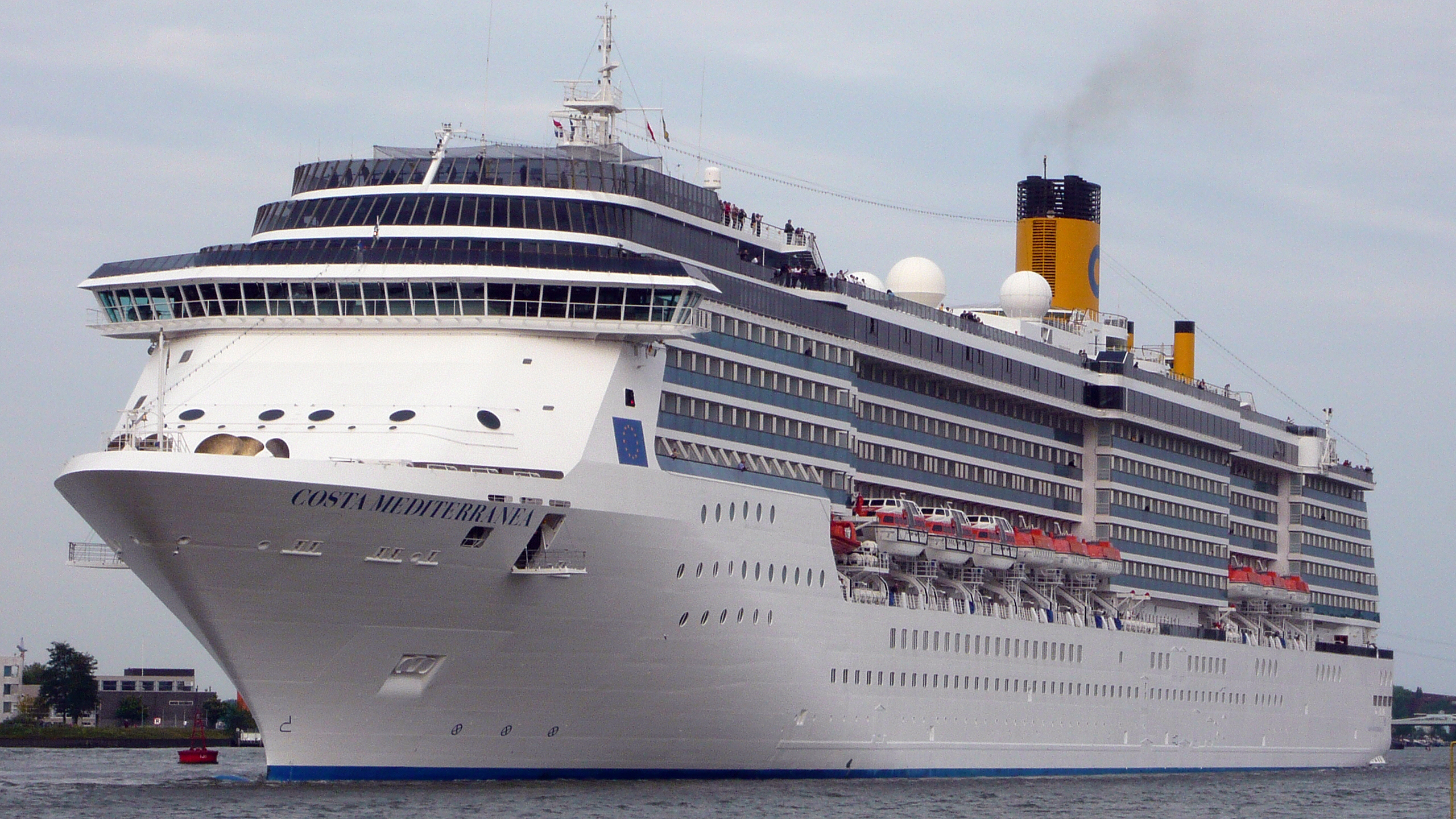 Reviewing Costa Mediterranea Travelpulse
