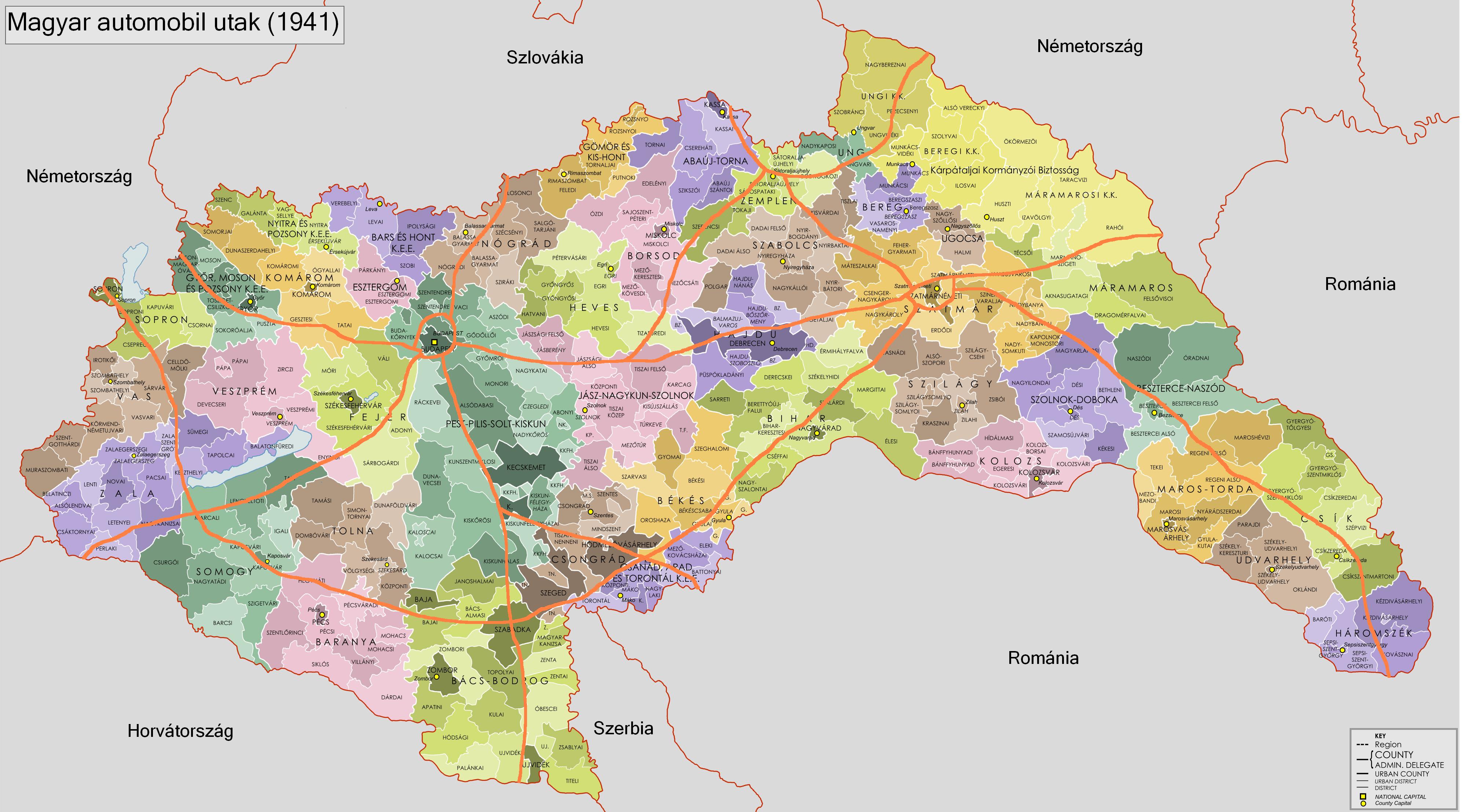magyarország térkép m6 Magyarország autópályái – Wikipédia magyarország térkép m6