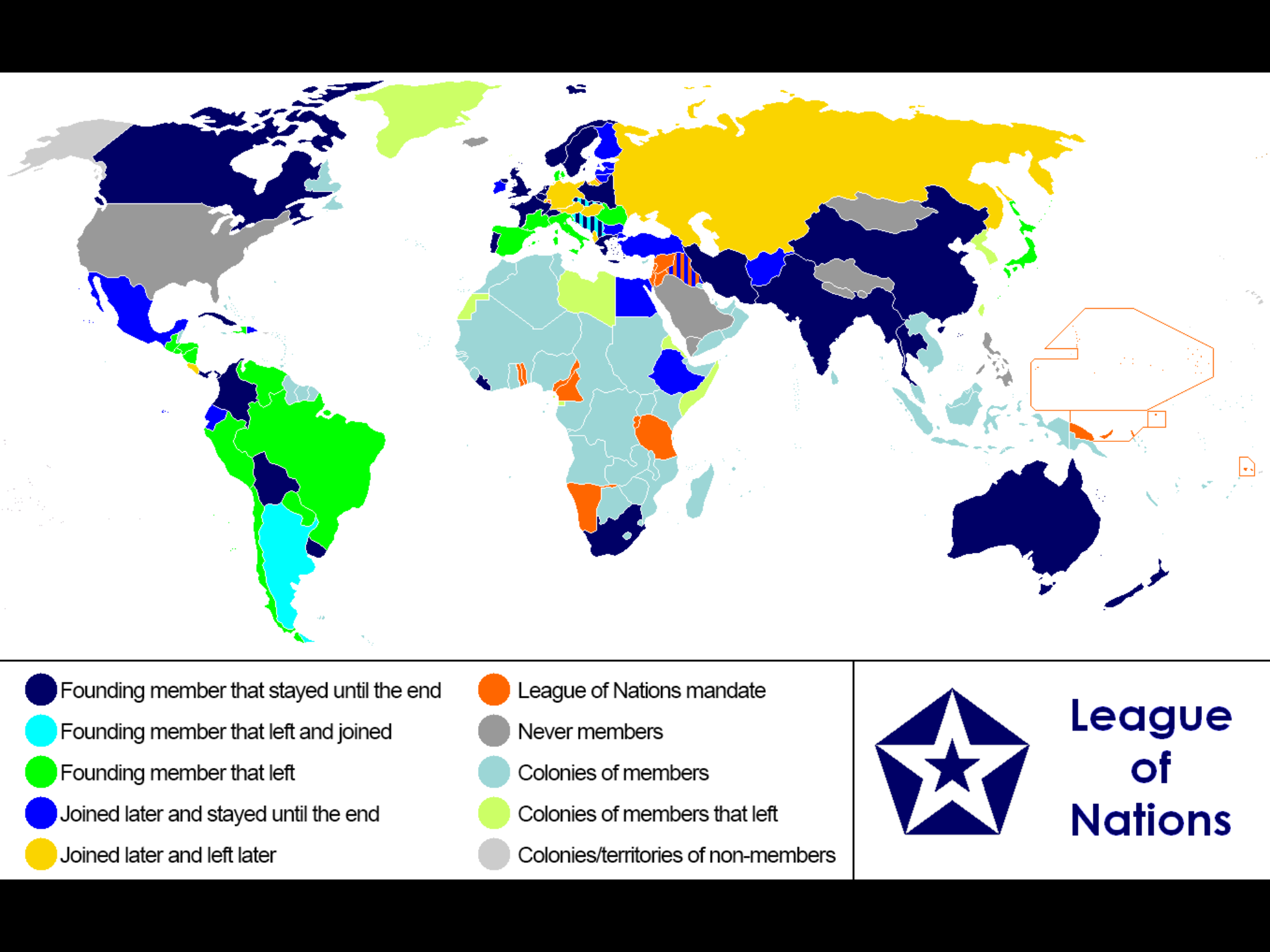 leauge of nations Despite support by president woodrow wilson, the us senate rejected the treaty of versailles and wilson's proposed league of nations, which aimed to create stability in post wwi europe.