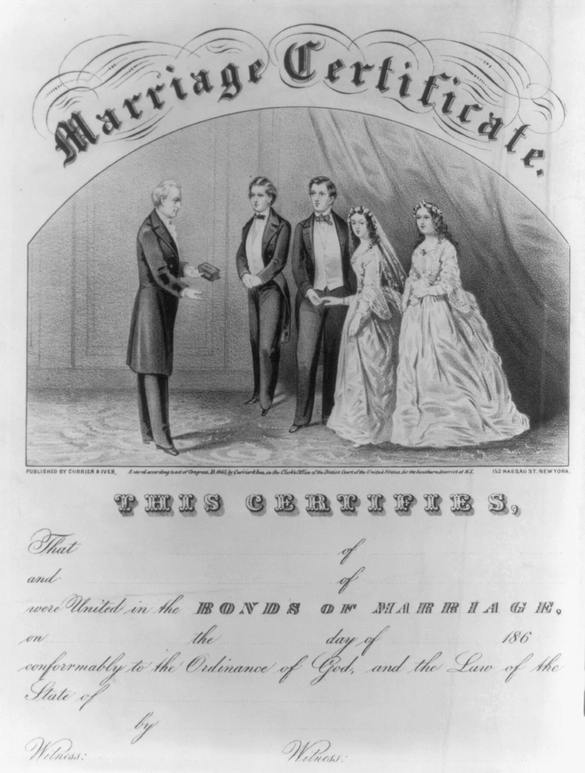 Filemarriage Certificateg Wikimedia Commons