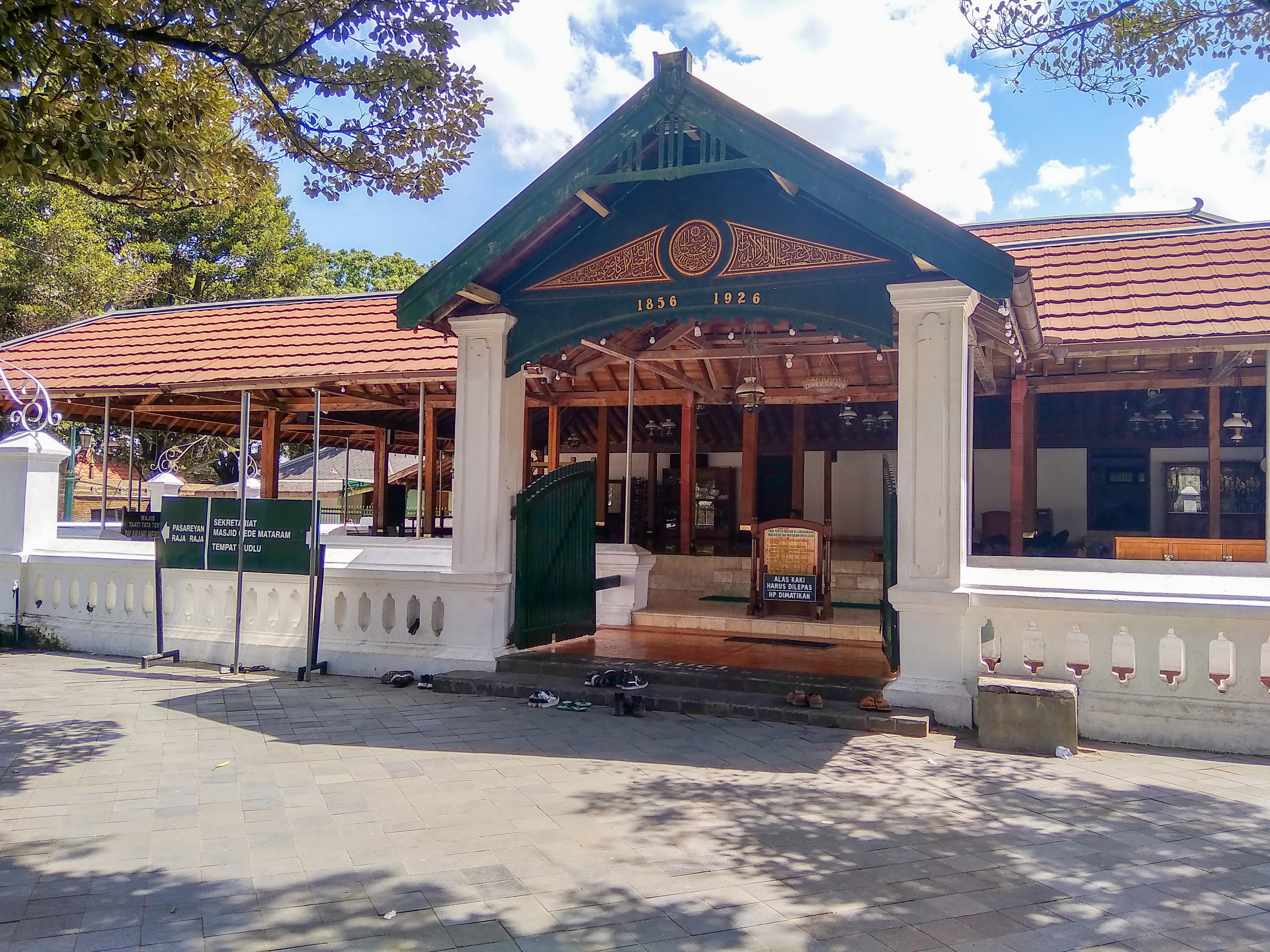 Masjid Gedhe Mataram Bahasa Indonesia