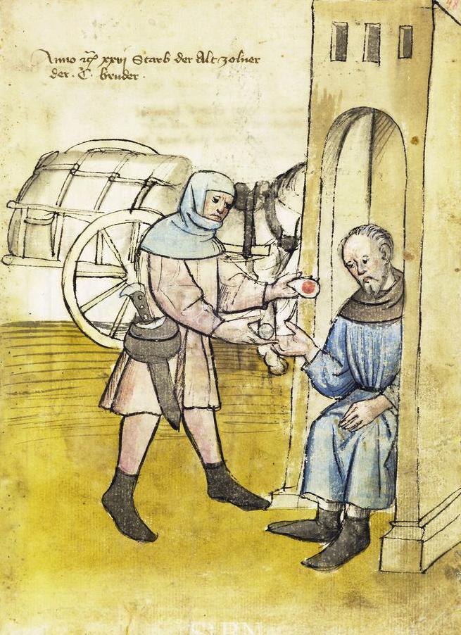 Výběrčí daní z roku 1426