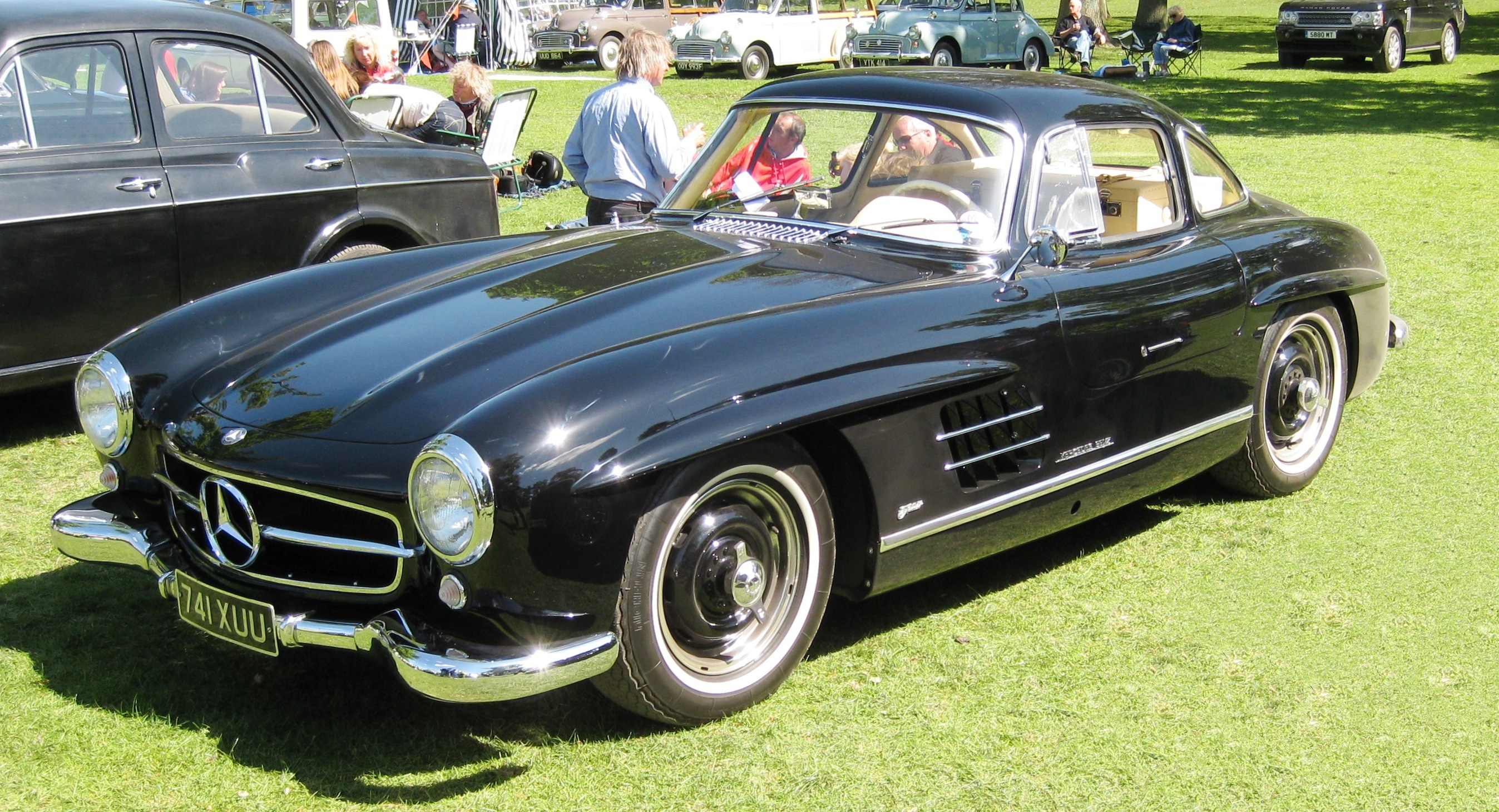 file mercedes benz 300sl gullwing 1954
