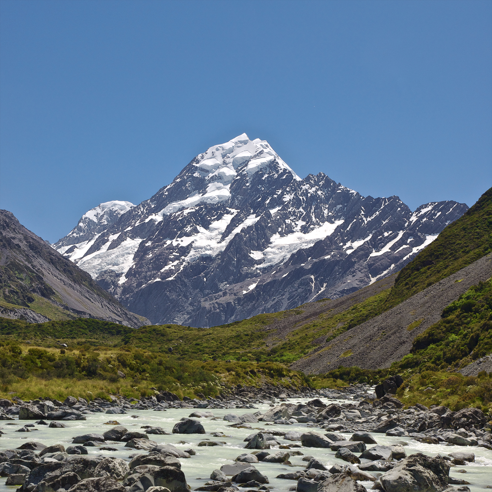 Aoraki / Mount Cook - Wikipedia, the free encyclopedia