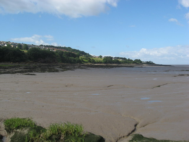 Mudflats at Kilkenny Bay - geograph.org.uk - 1361203