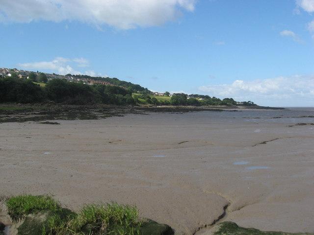 Mudflats at Kilkenny Bay - geograph.org.uk - 1361203
