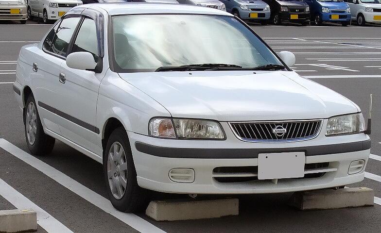 File Nissan Sunny 1998 Jpg Wikimedia Commons