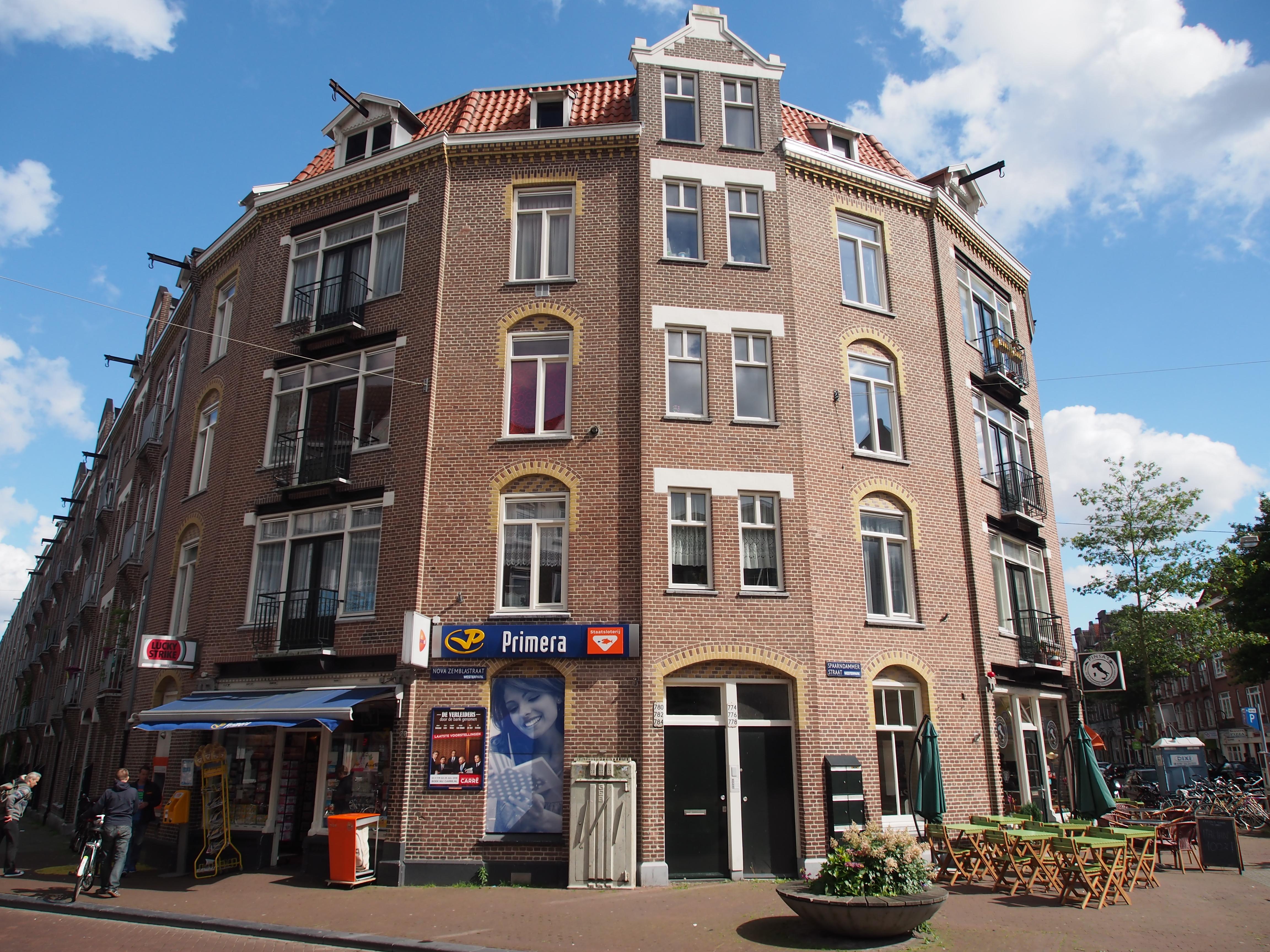 2 Hoek 2 Bank.File Nova Zemblastraat Hoek Spaarndammerstraat Pic1 Jpg Wikimedia