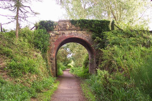 Old Bridge on the Chippenham to Calne railway - geograph.org.uk - 46631