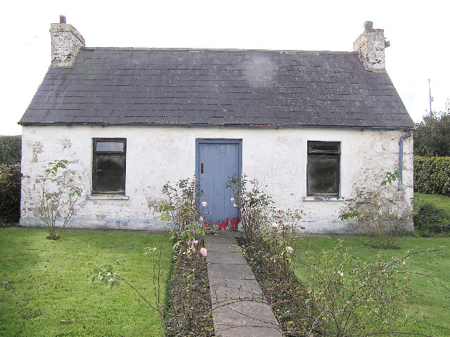 File Old Cottage At Aghagallon Geograph Org Uk 68731