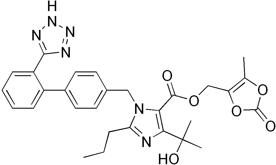 benicar hct mechanism of action