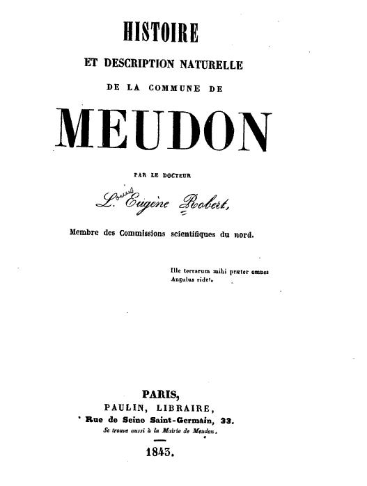 Meudon patronyme wikip dia for Histoire des jardins wikipedia