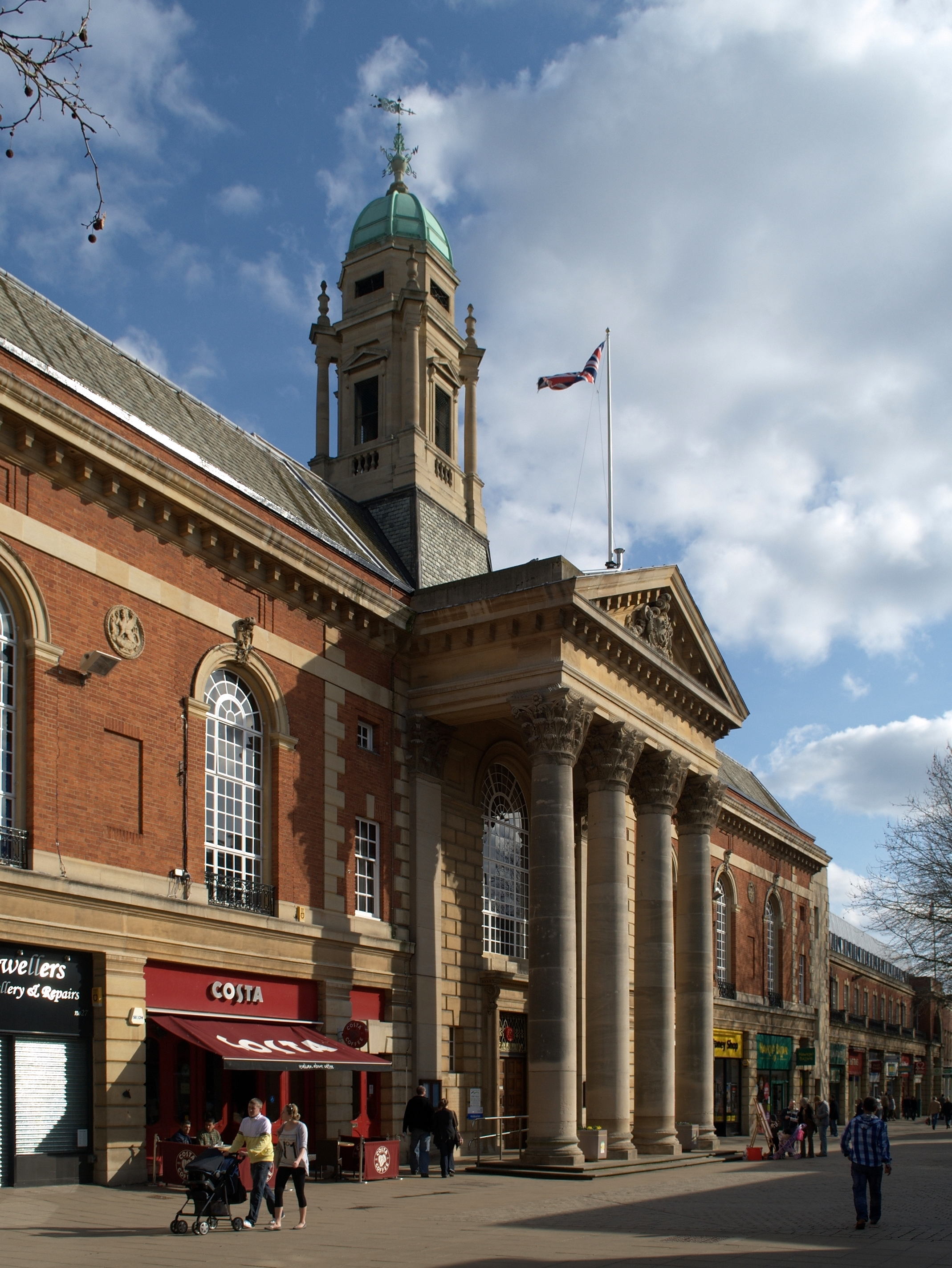 The Town Hall, Peterborough (1930 1933).