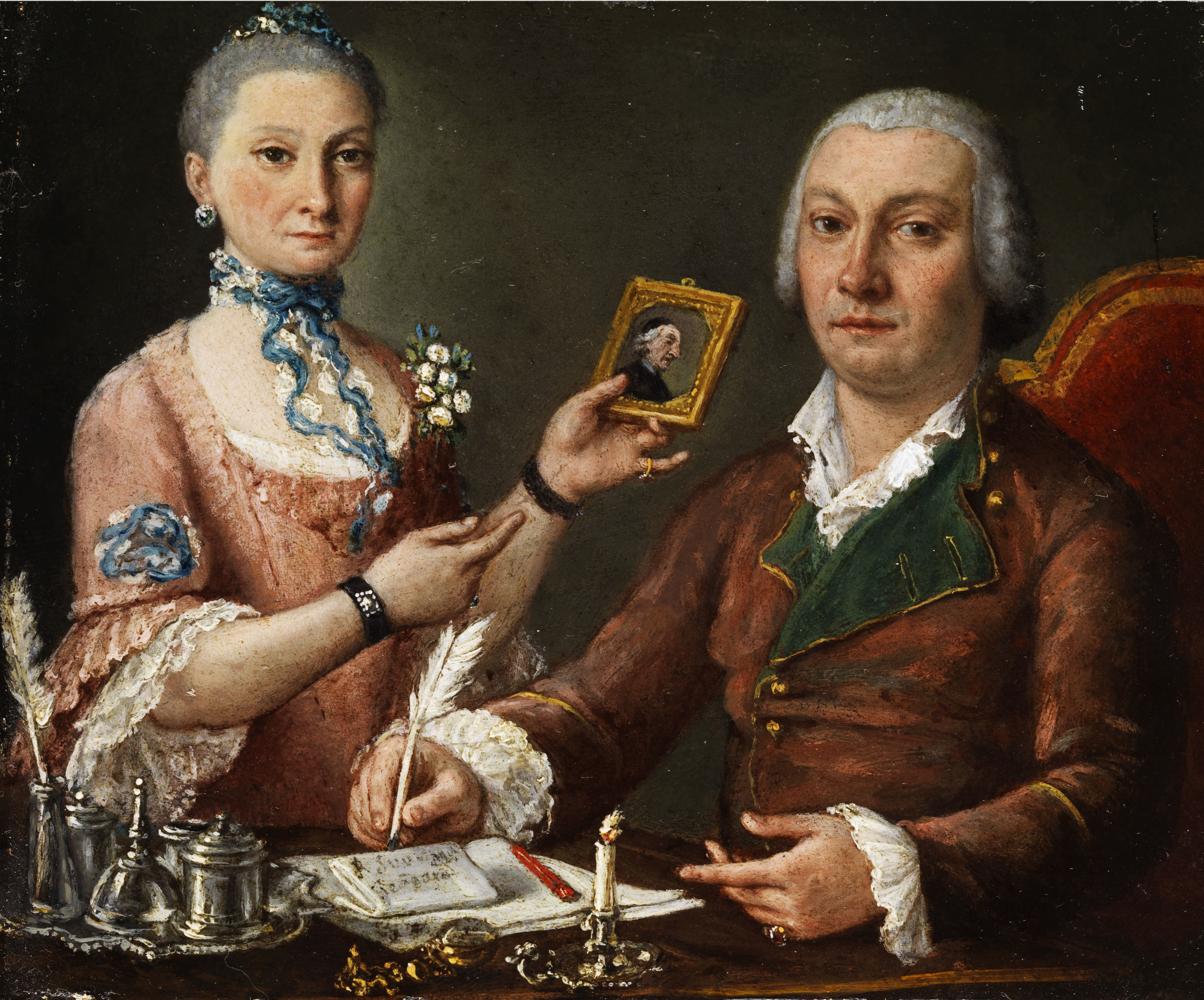 Couple Image In Painting
