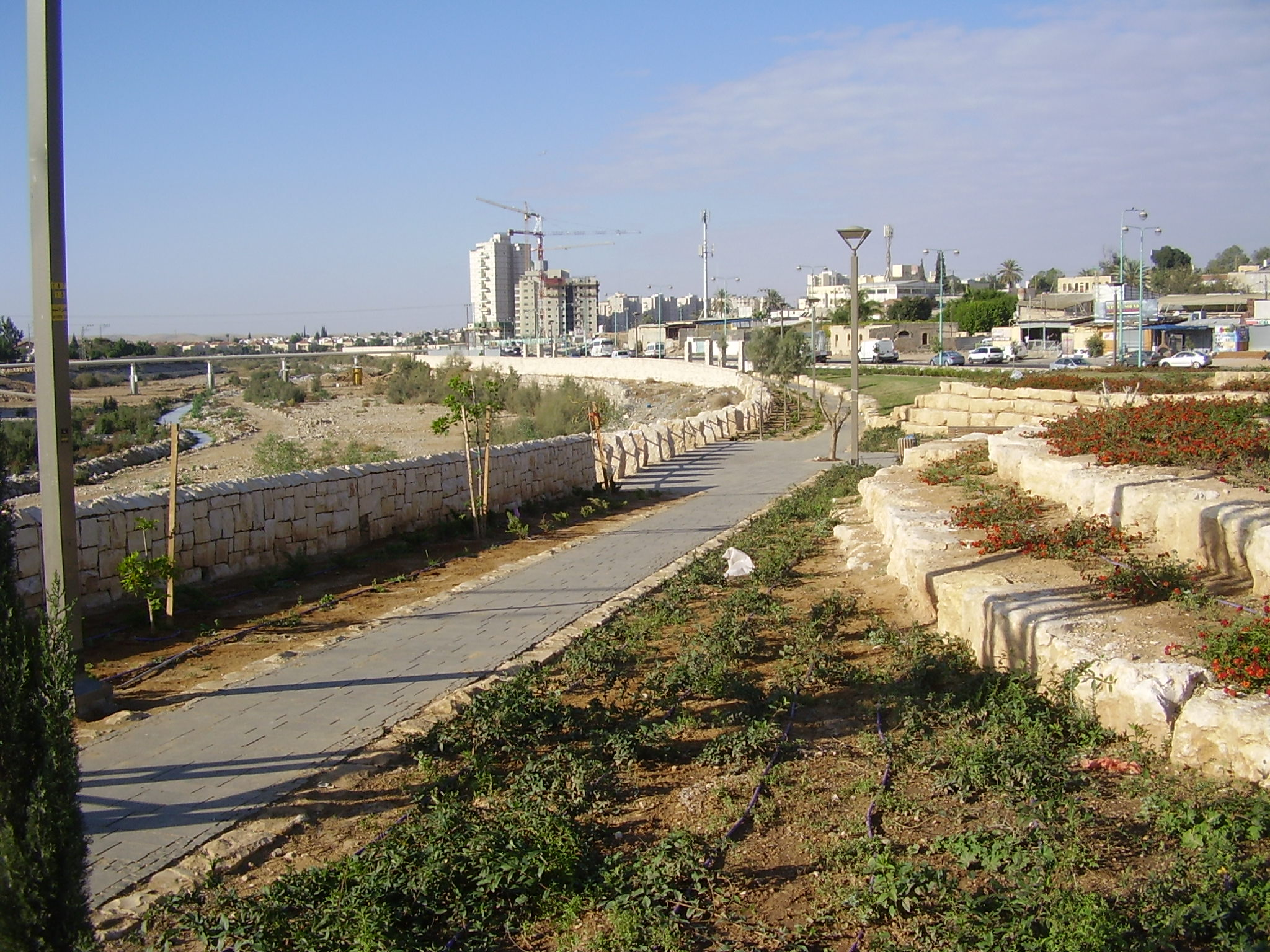 a history of tel beer sheva Beersheba, on the northern edge of the barren negev desert and about 75  kilometres south of jerusalem, features in several other events of bible history.