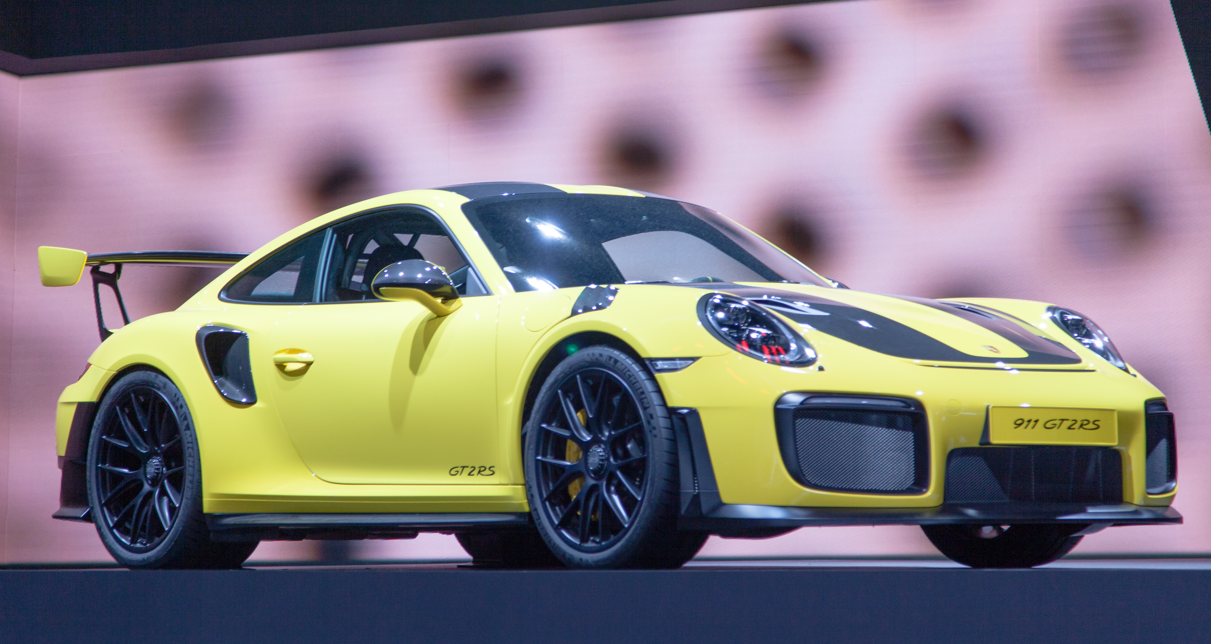 File Porsche 911 Gt2rs Yellow Img 0684 Jpg Wikimedia Commons