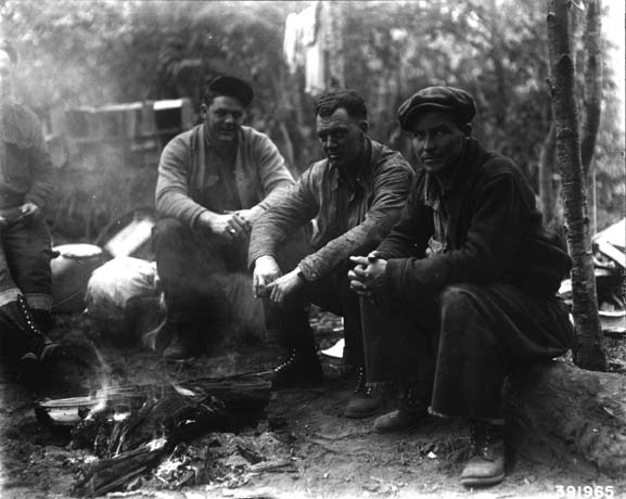 Poverty Ridge fire camp-Oregon-1936