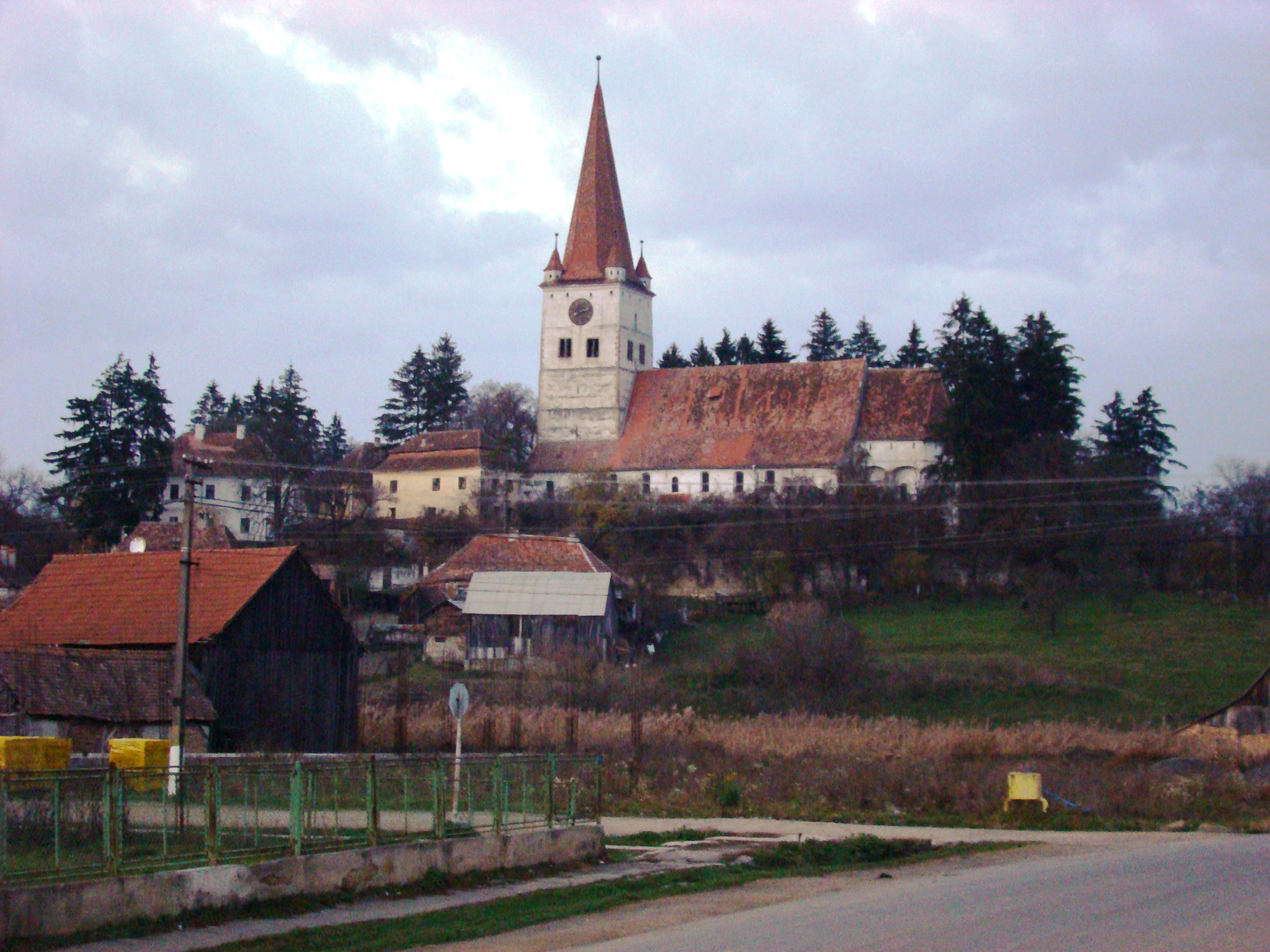 Biserica fortificată din Cincu
