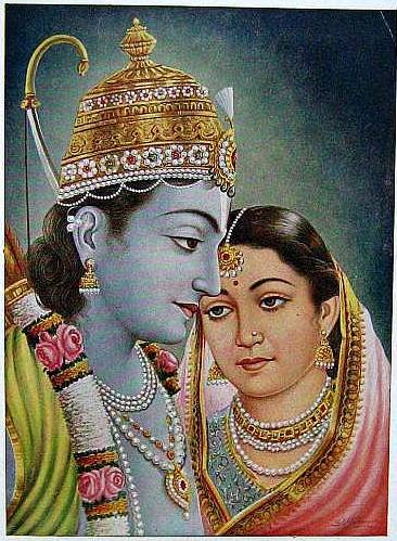 https://upload.wikimedia.org/wikipedia/commons/0/07/Ram_and_Sita_as_a_couple_%28bazaar_art%2C_1950%27s%29.jpg
