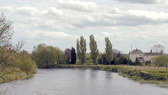 River Trent at Shardlow - geograph.org.uk - 7480