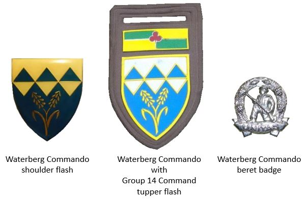 SADF era Waterberg Commando insignia