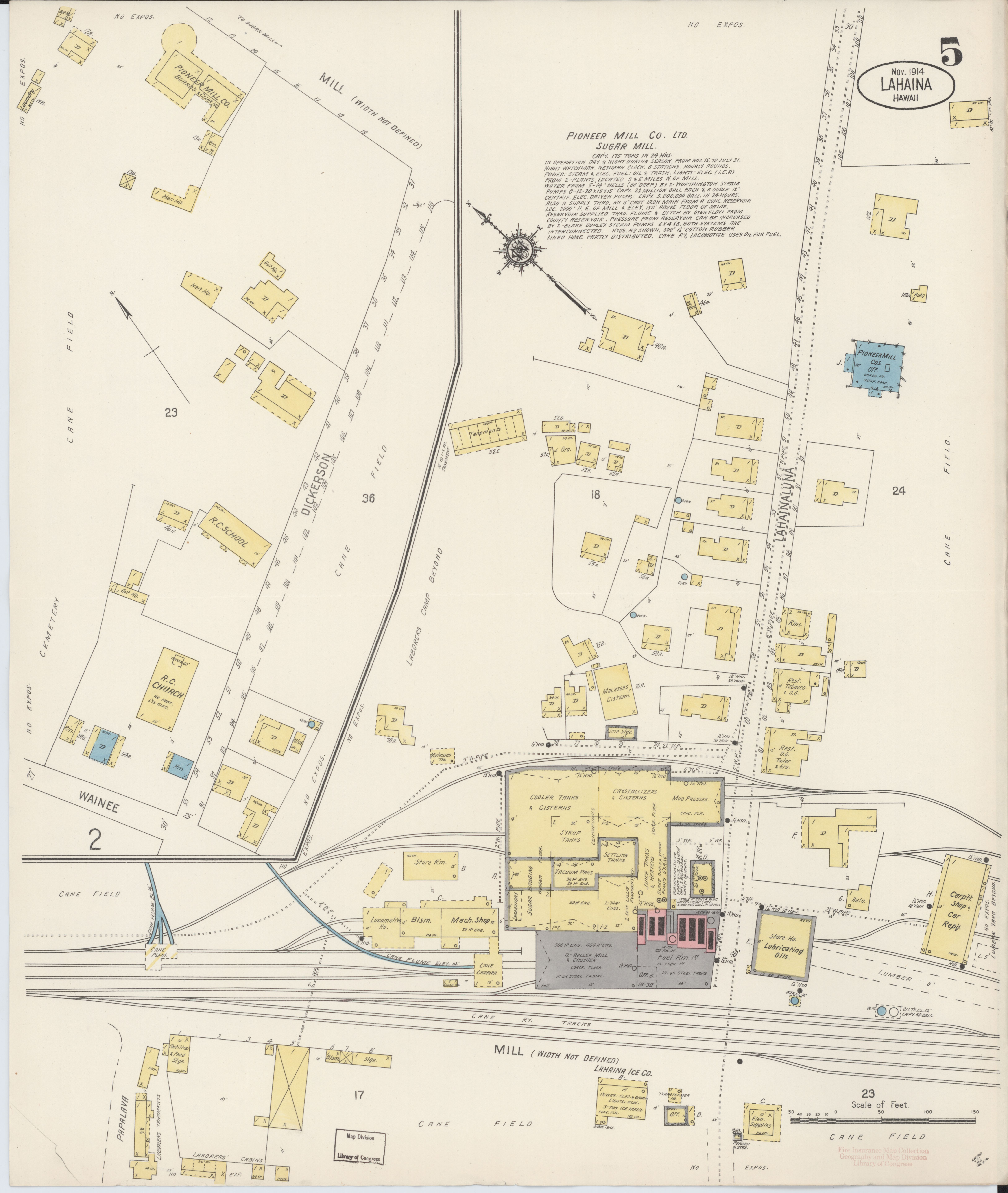 File Sanborn Fire Insurance Map From Lahaina Maui County Hawaii