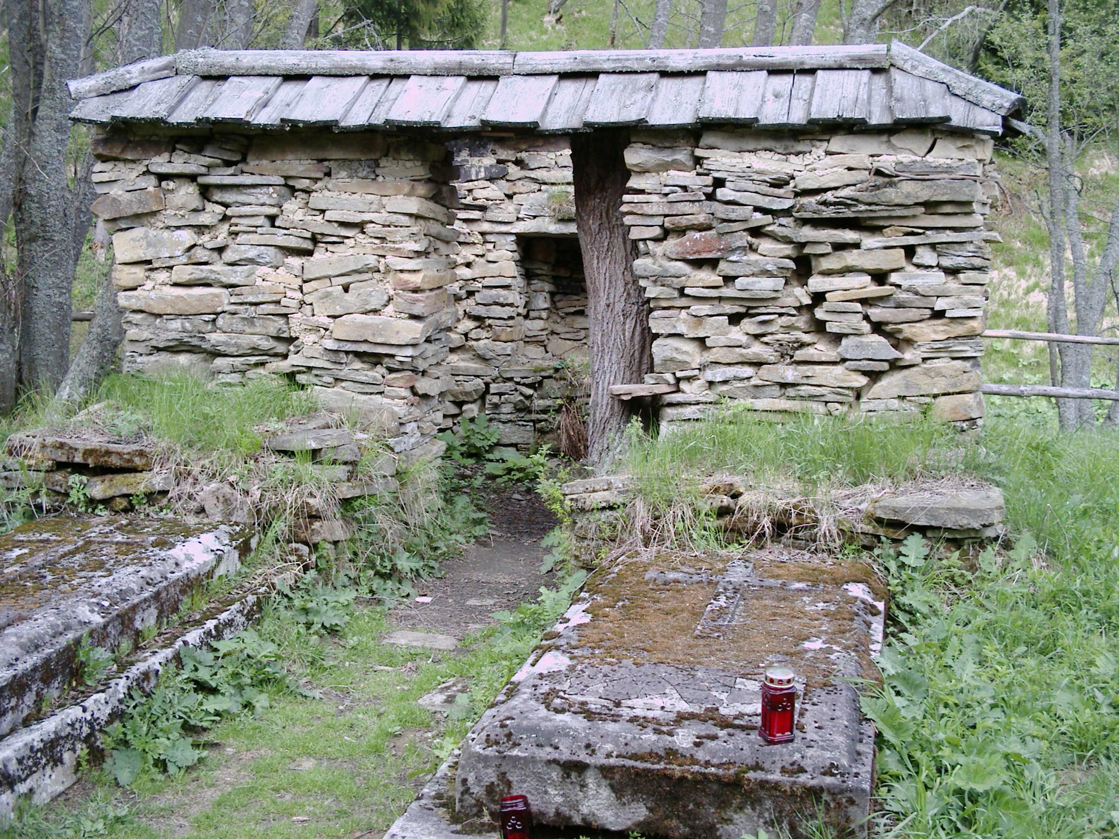 Nagrobki Stroińskich i kaplica cmentarna w Siankach