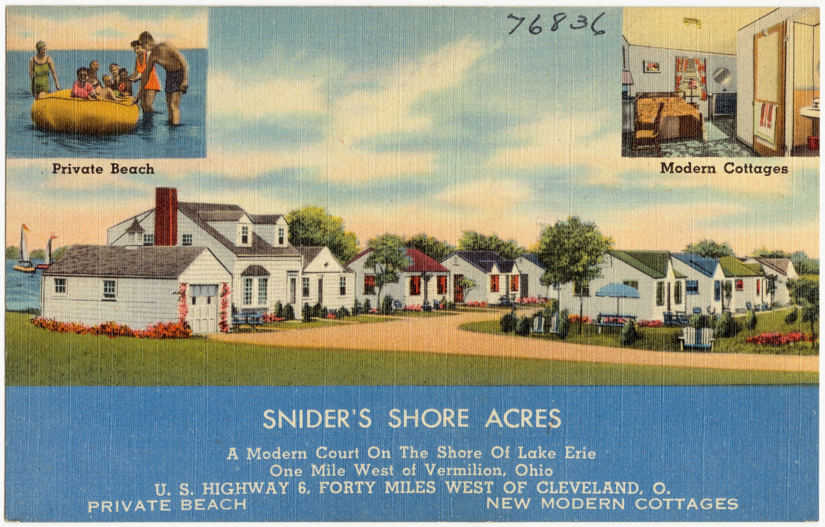 Ohio erie county vermilion - File Snider S Shore Acres A Modern Court On The Shore Of The Lake Erie