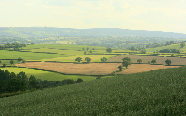 South of west on Maes Knoll - geograph.org.uk - 1393400