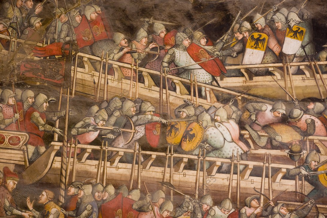 Battle of Punta San Salvatore by Spinello