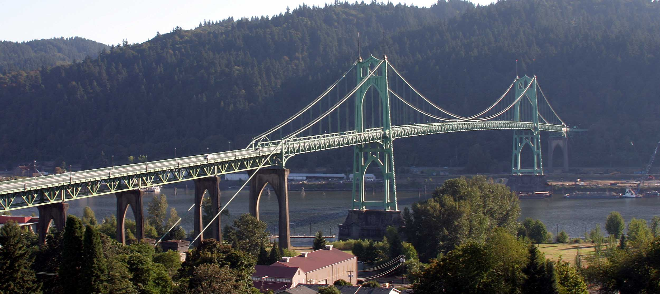 St. John's Bridge (c. 1931)-North Portland Real Estate