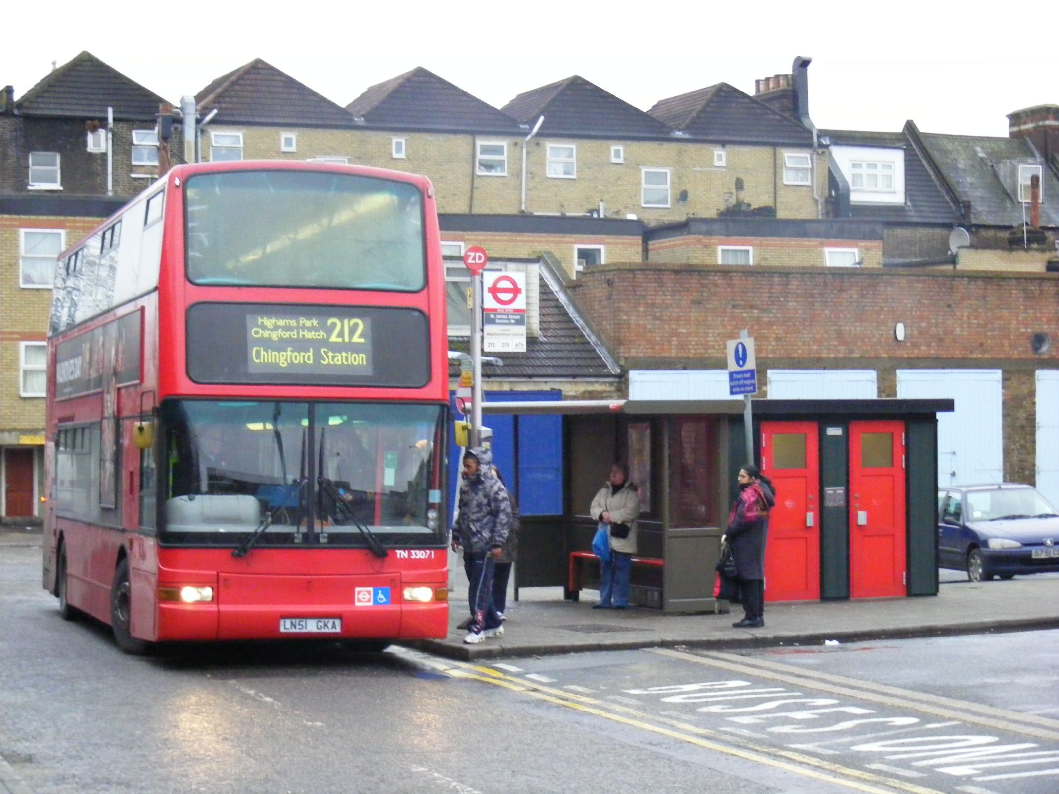 File:St James St Station,Walthamstow E17. 212 Bus - Flickr ...