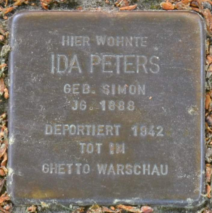 Stolperstein für Ida Peters (cropped).jpg