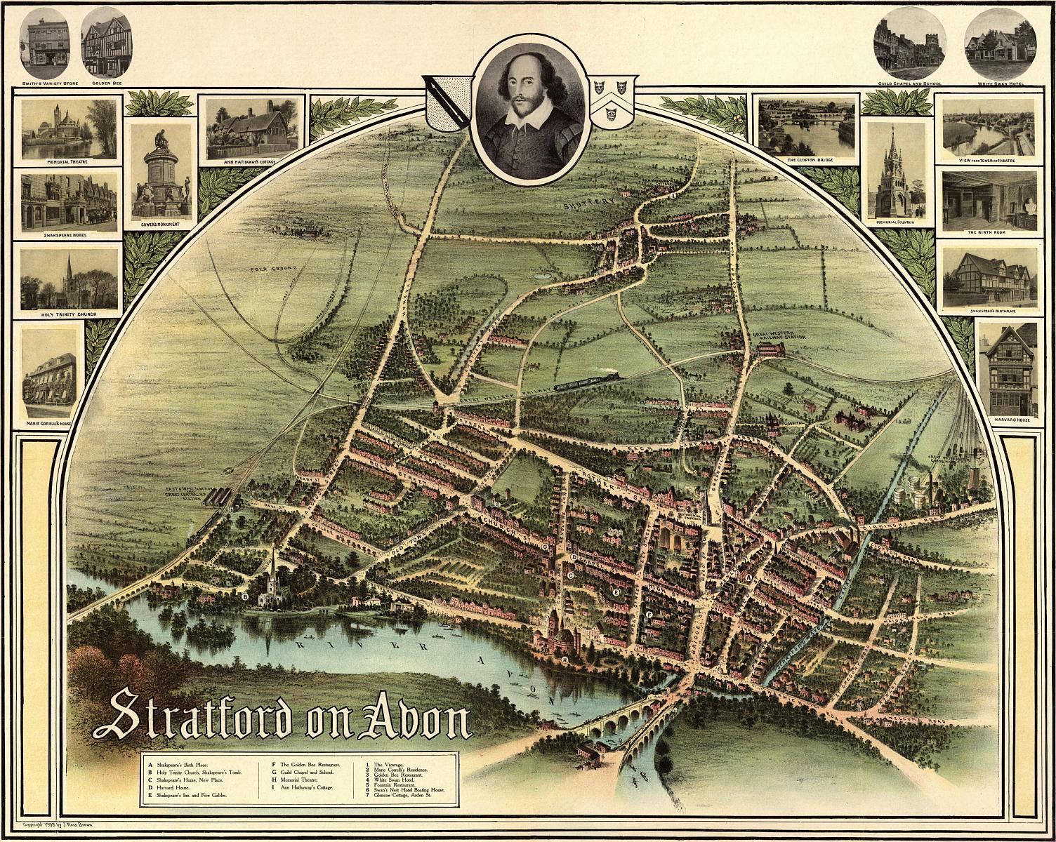 FileStratford On Avon Historic Map 1902