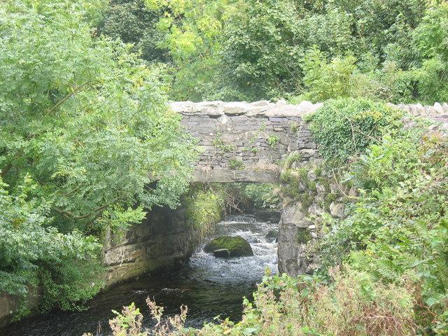 The Dinorwig Tramway Bridge at Clwt y Bont - geograph.org.uk - 247039