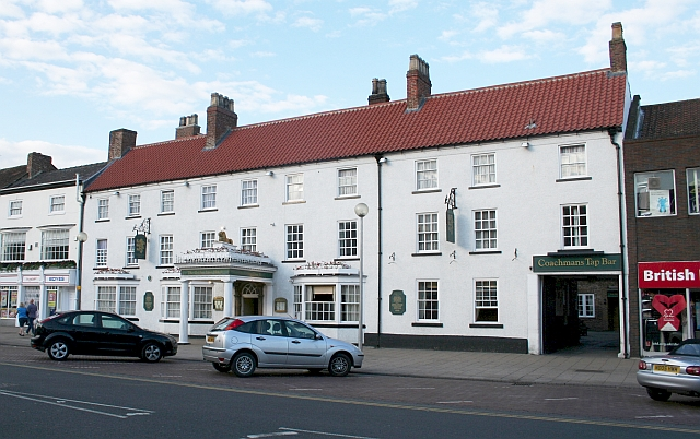 The Golden Lion Hotel, Northallerton - geograph.org.uk - 478794