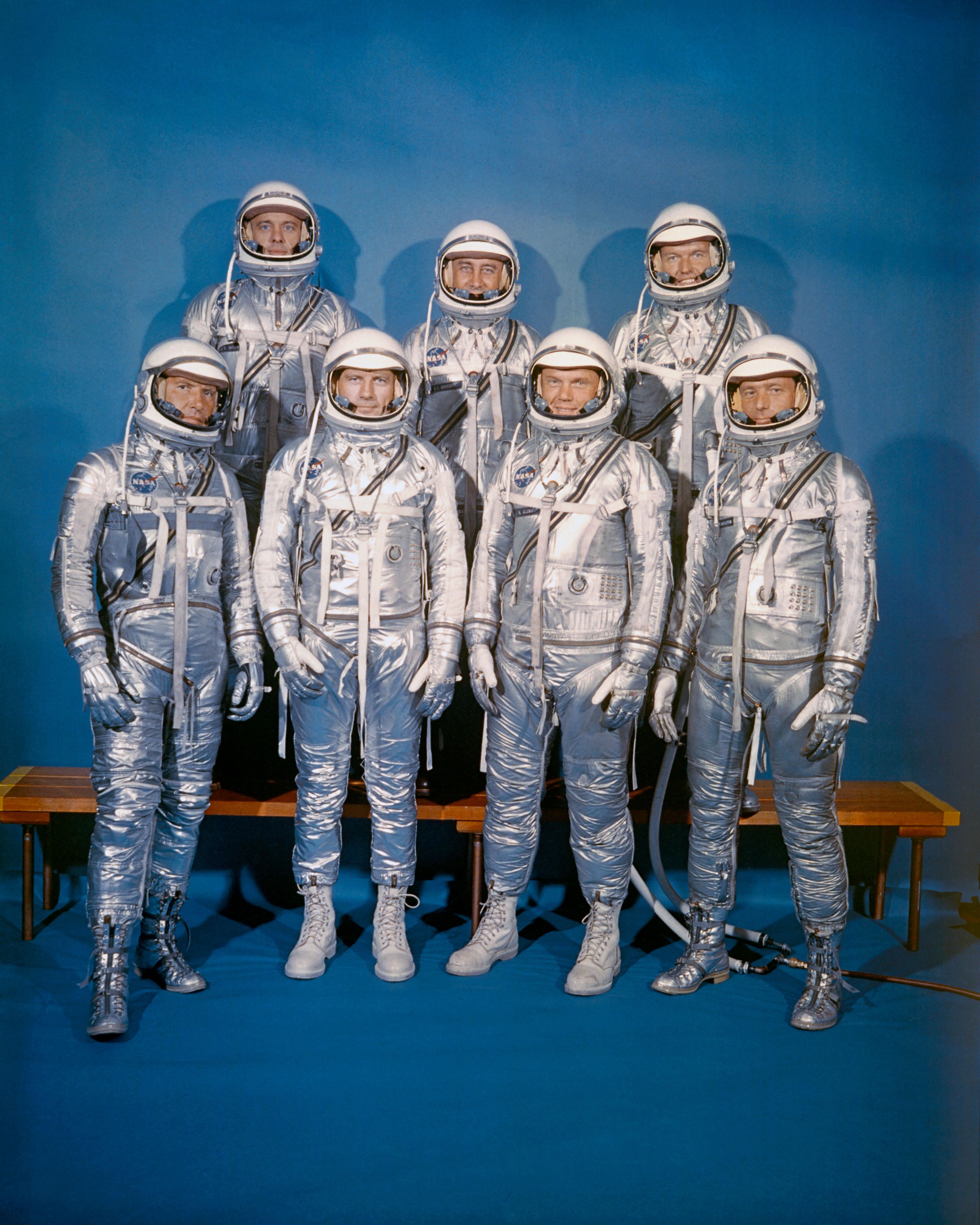 Baby Vest Astronaut in Training Blue