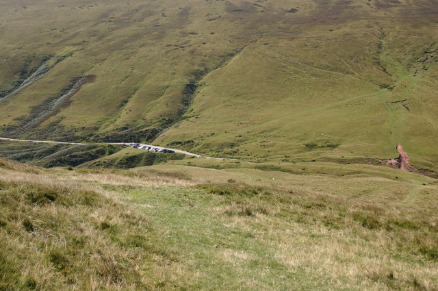 The top of Gospel Pass - geograph.org.uk - 721329